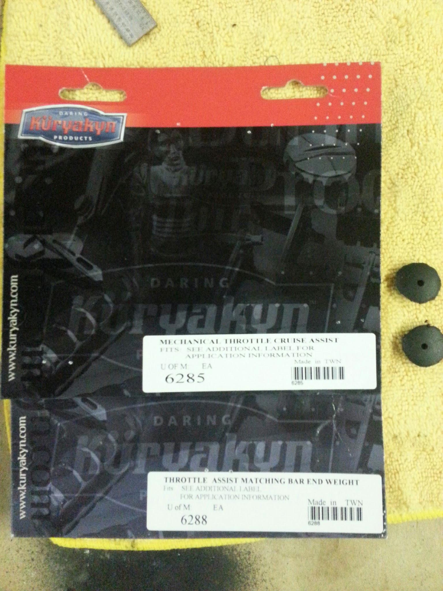 Kuryakyn 6285 Mechanical Throttle Cruise Assist