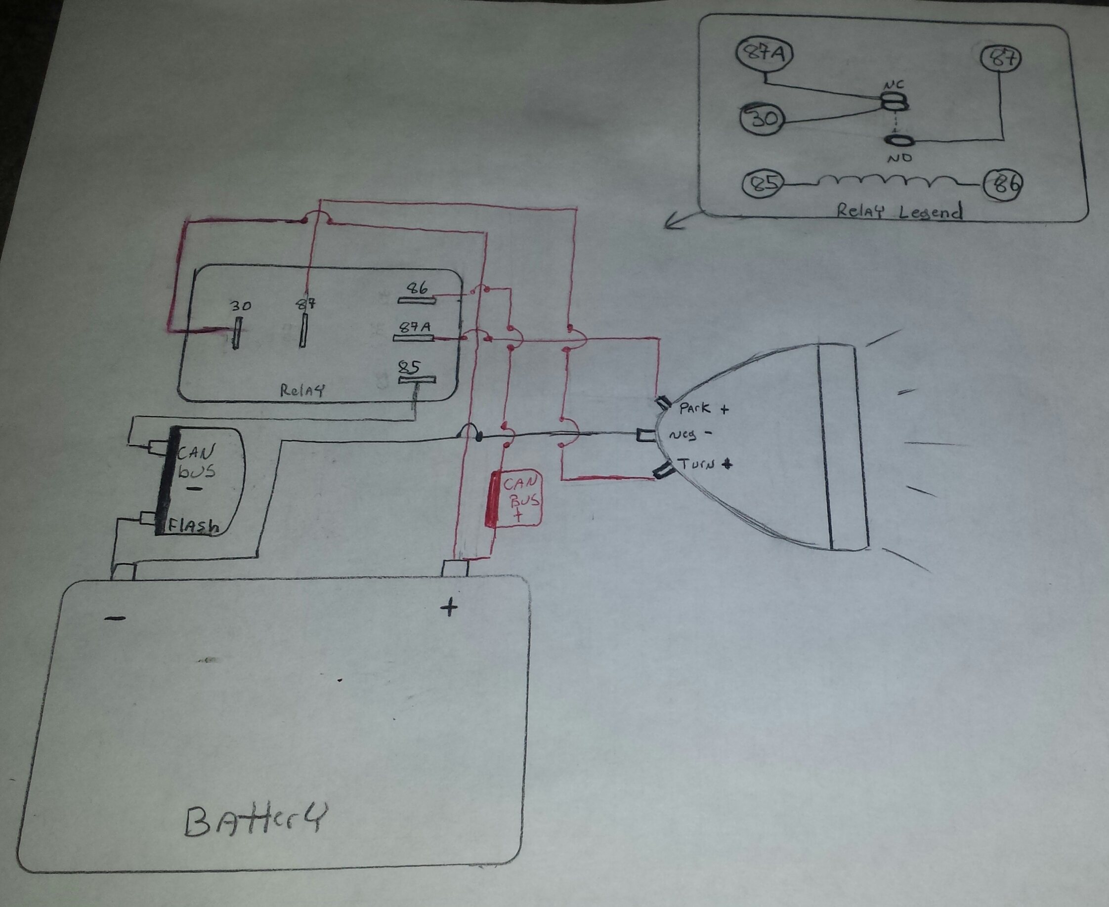 How To Have Running Lights Indian Motorcycle Forum Relay Wiring Diagrams