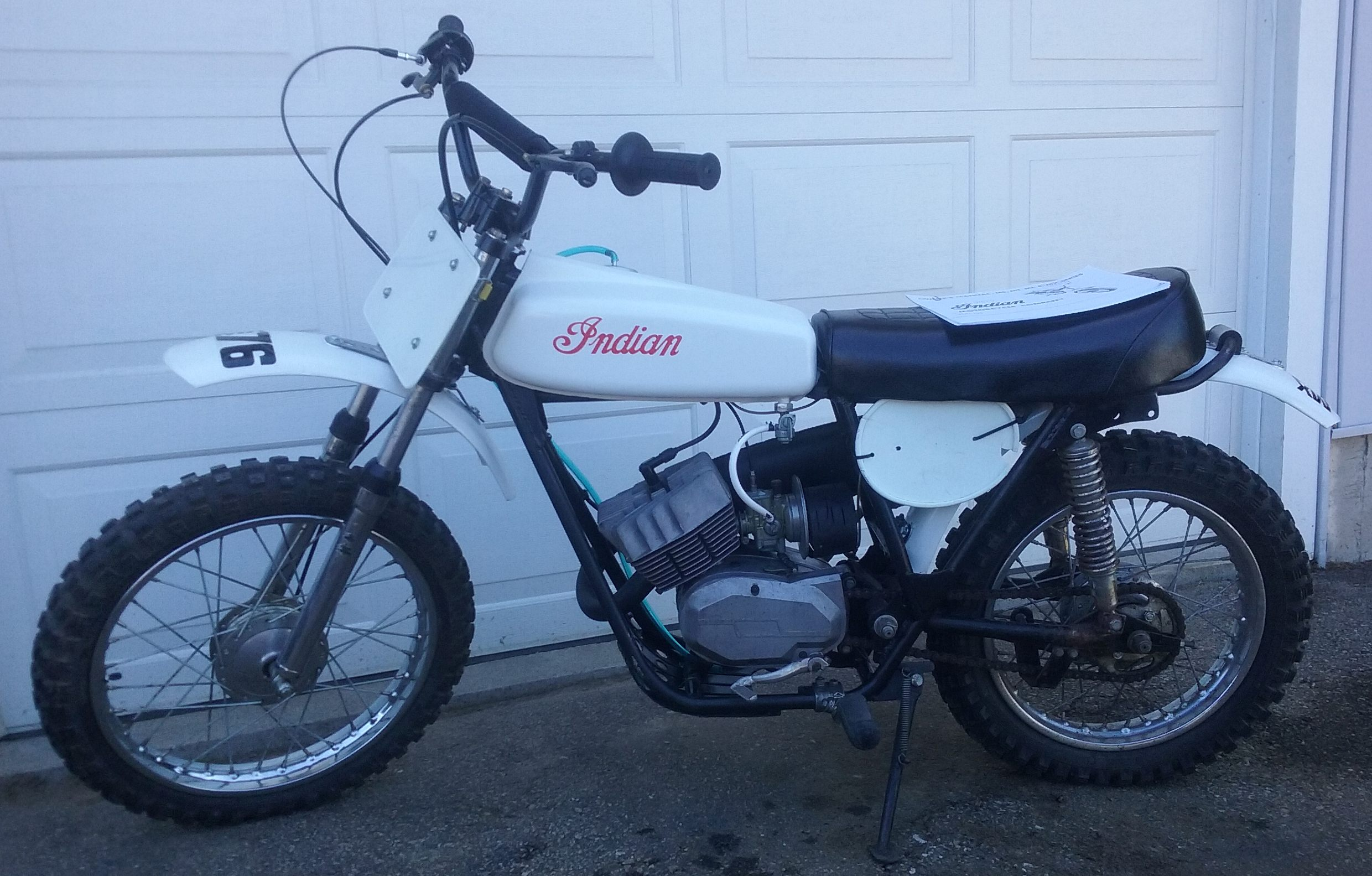 1970 Honda 125 Dirt Bike For Sale 1973 Indian Mx74 Runs Drives Nice In New 20170901 123837