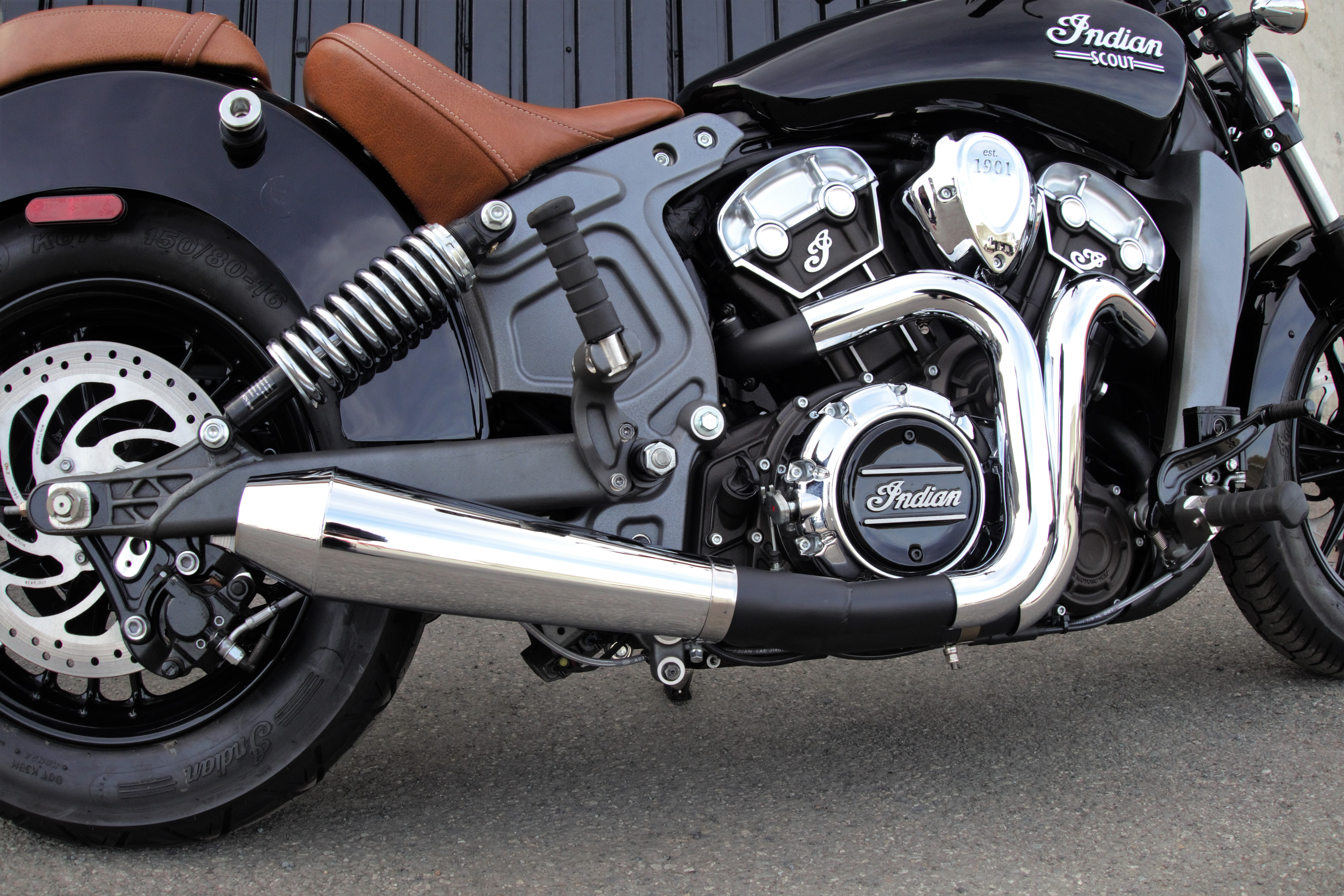 New Exhaust Release Rpw Usa Accelerant Made For Indian Scout