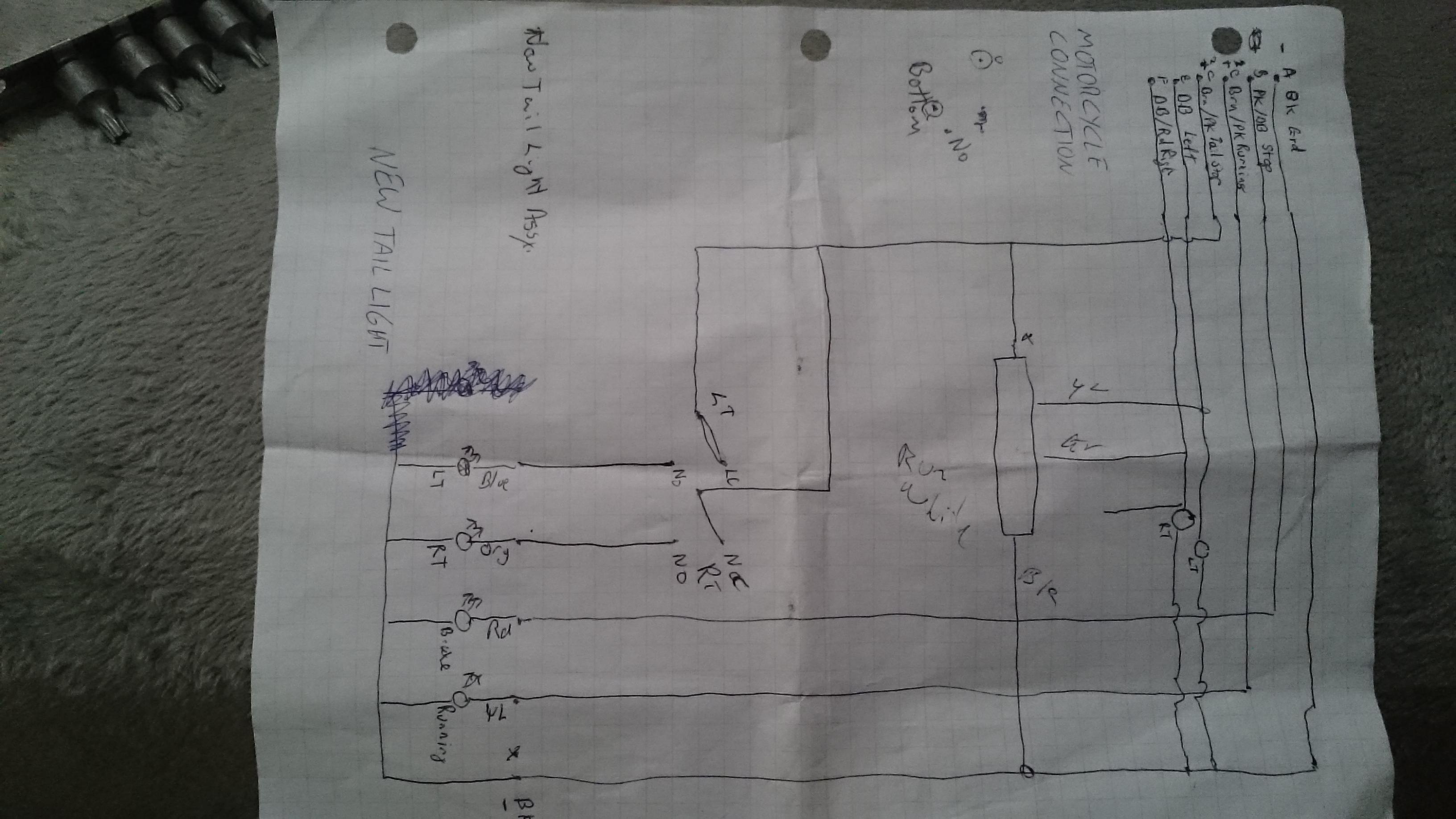 Ho to connect LED strip ke running turn signal lights ... Kawasaki Ninja Tail Light Wiring Diagram on motorcycle wiring diagrams, harley wiring diagrams, triumph wiring diagrams, ford truck wiring diagrams, ktm wiring diagrams, kawasaki wiring schematics, scooter wiring diagrams, subaru wiring diagrams, ferrari wiring diagrams, kawasaki vulcan 1500 wiring diagram, jeep wiring diagrams, yamaha wiring diagrams, kawasaki prairie 360 wiring-diagram, honda wiring diagrams, kawasaki vulcan 900 wiring diagram, piaggio wiring diagrams, mitsubishi pajero wiring diagrams, nissan wiring diagrams, chopper wiring diagrams, bmw wiring diagrams,