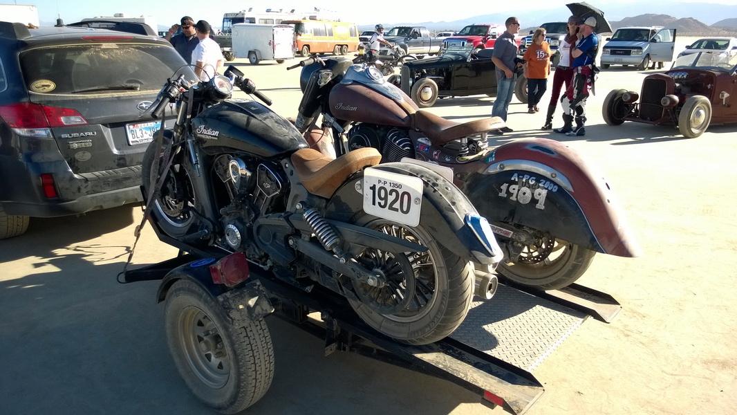 Scout Top Speed Run At El Mirage Dry Lake Indian Motorcycle Forum