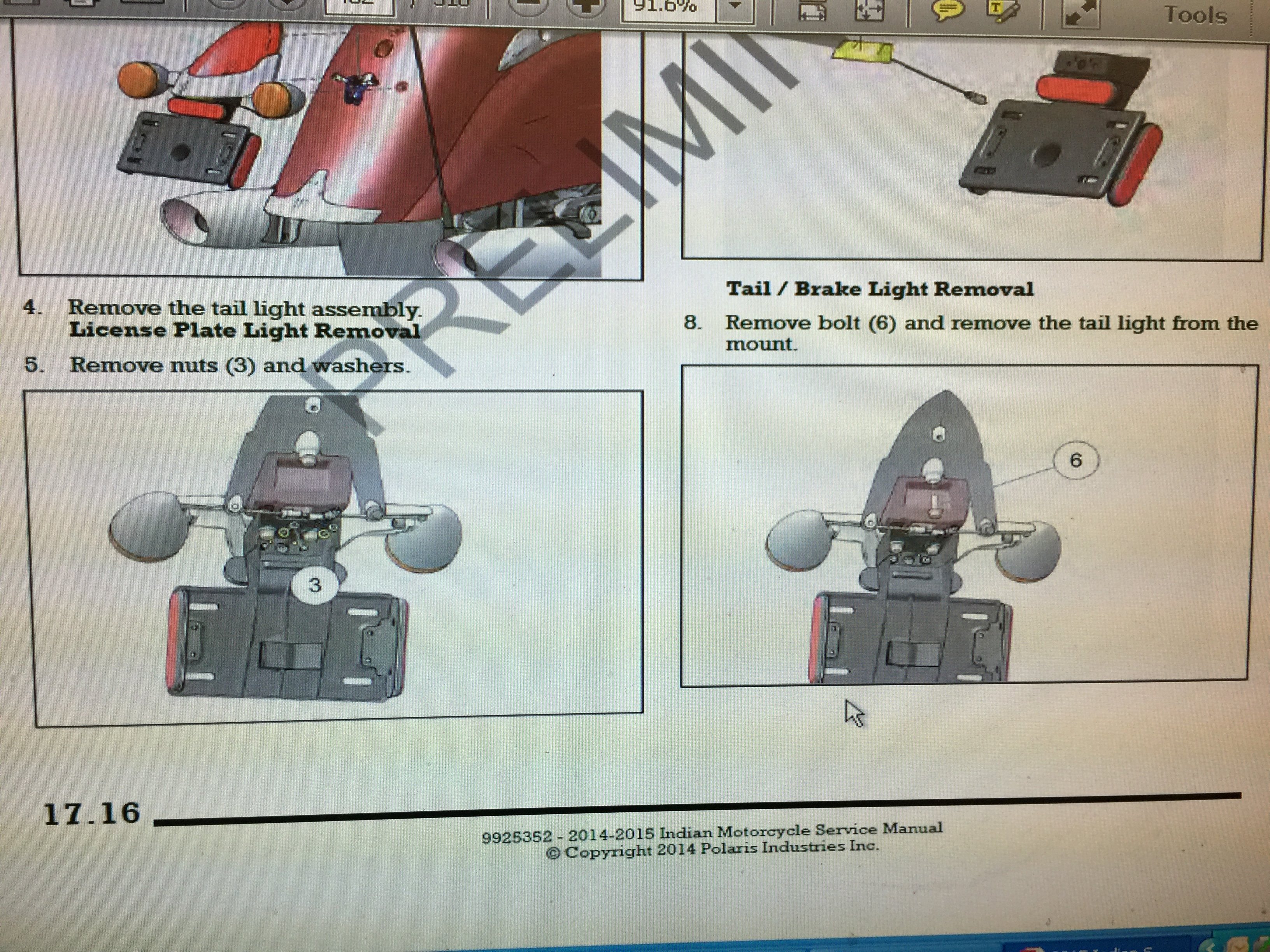Taillight Removal And Replacement Indian Motorcycle Forum Trike Brake Light Wiring Diagram Imagejpeg