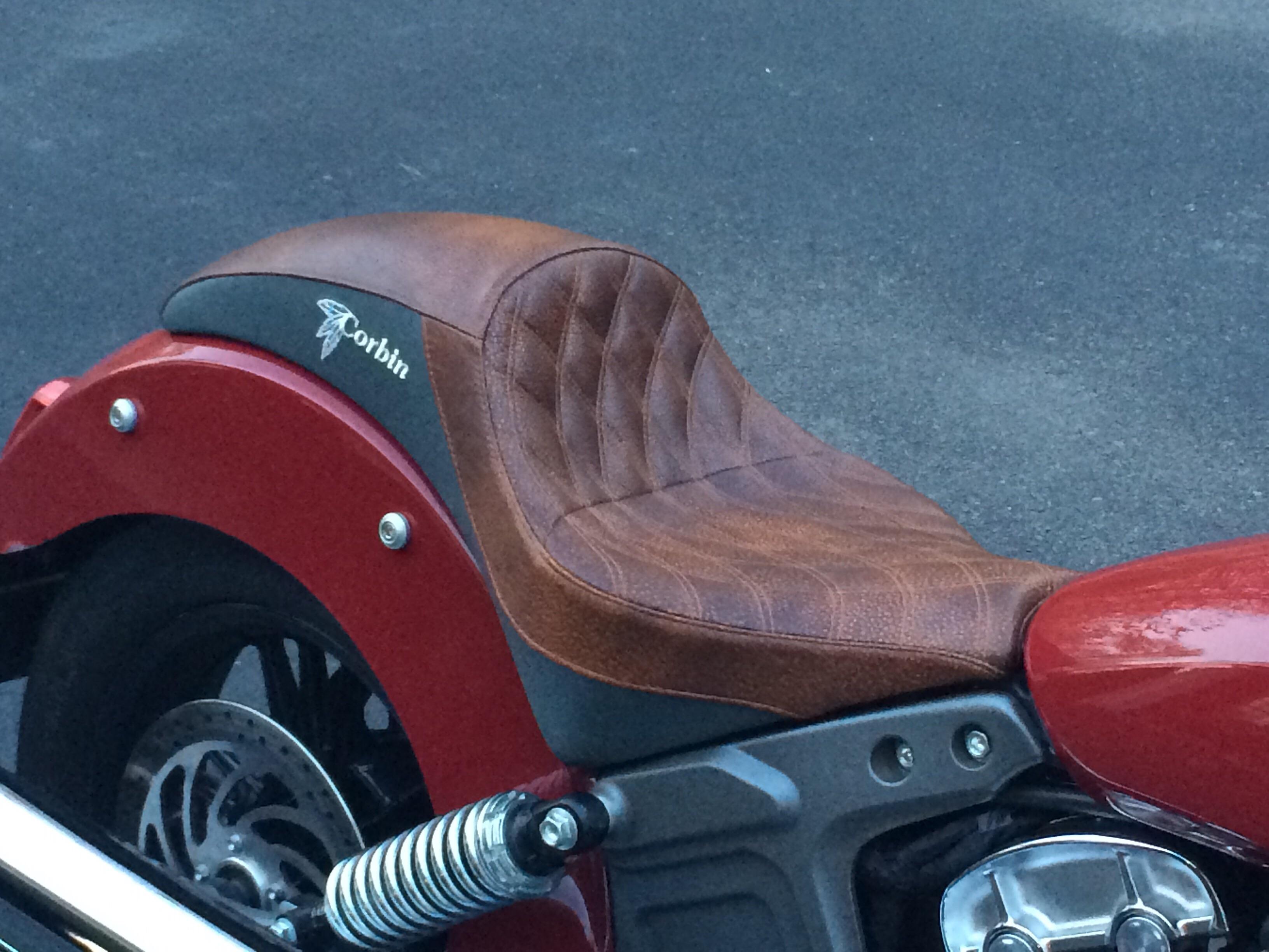 Corbin Classic Solo Seat For Scout