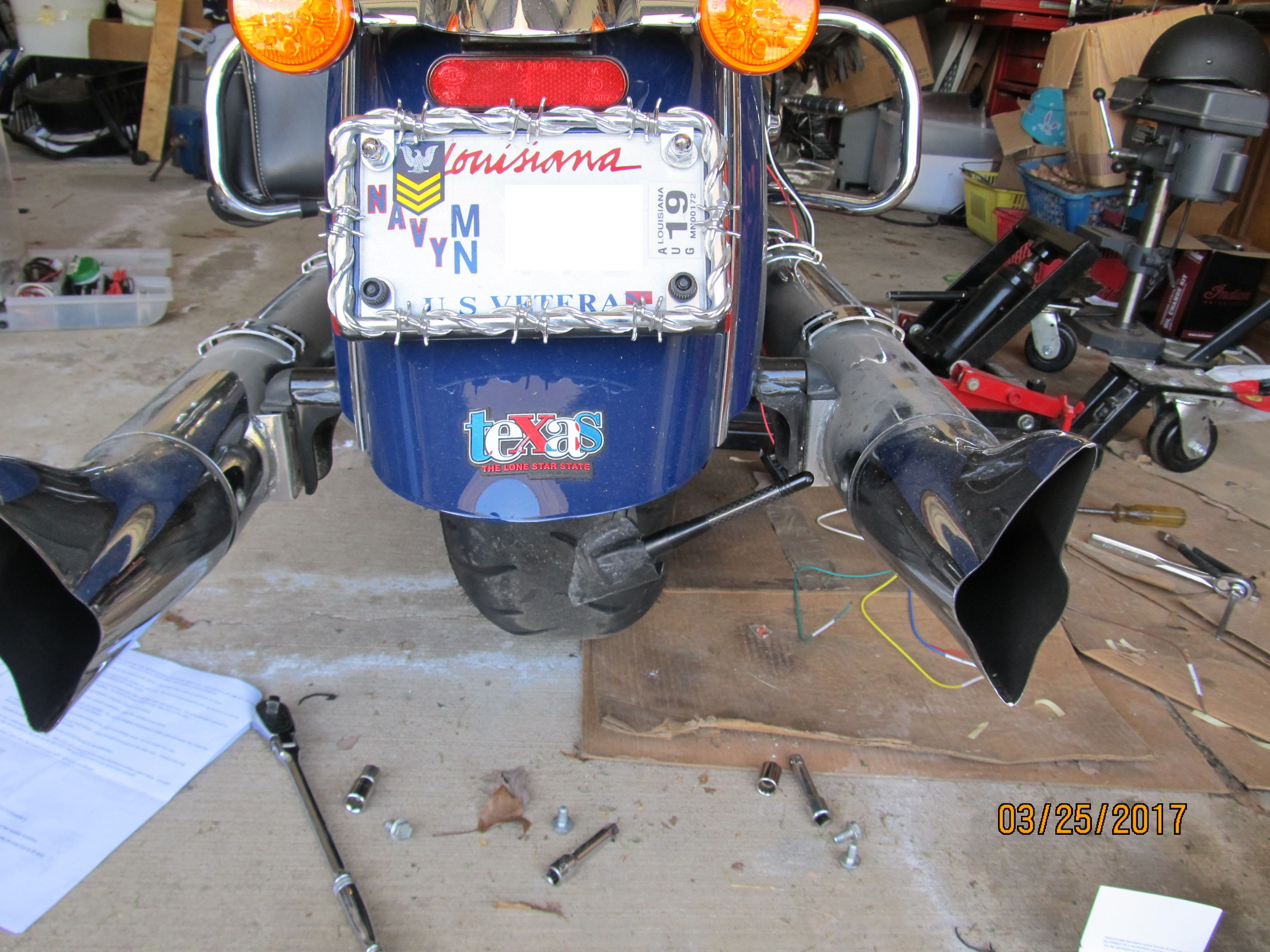 Putting A Hitch On The Roadmaster Page 3 Indian Motorcycle Forum Rivco Wiring Harness Img 0012a