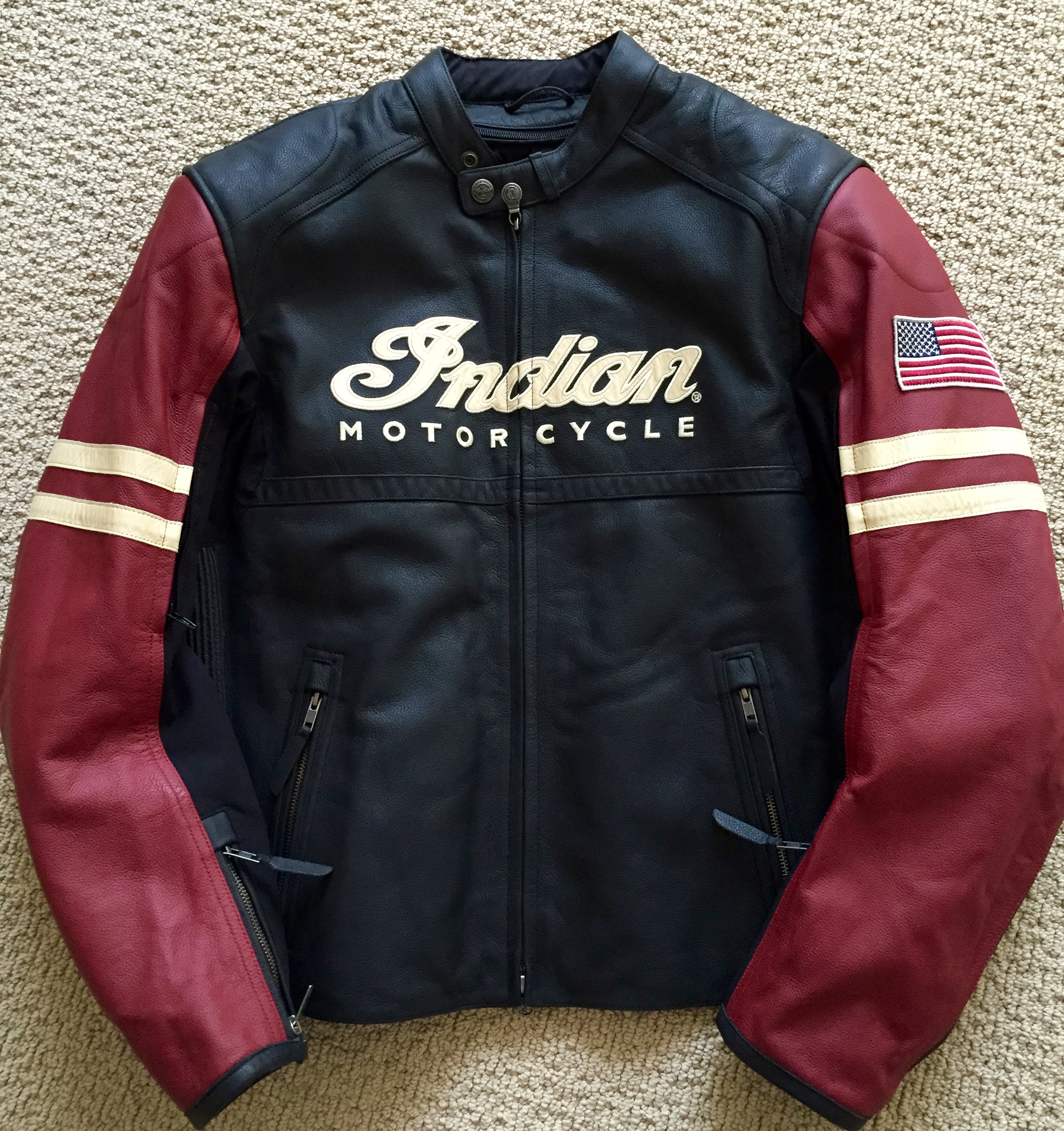 For Sale: New Men&39s XL Indian Leather Jacket | Indian Motorcycle Forum