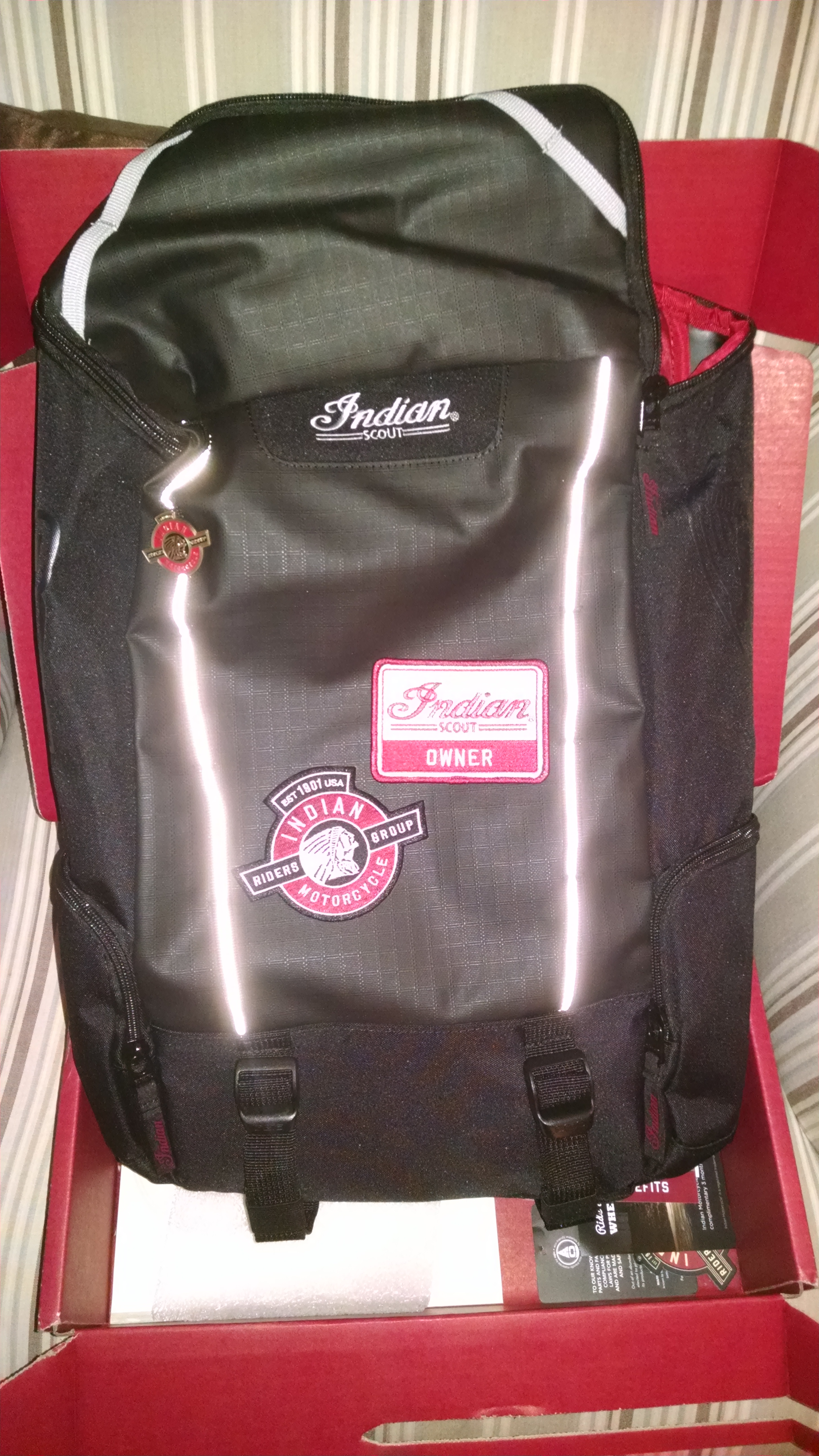 Free Scout backpack | Indian Motorcycle Forum