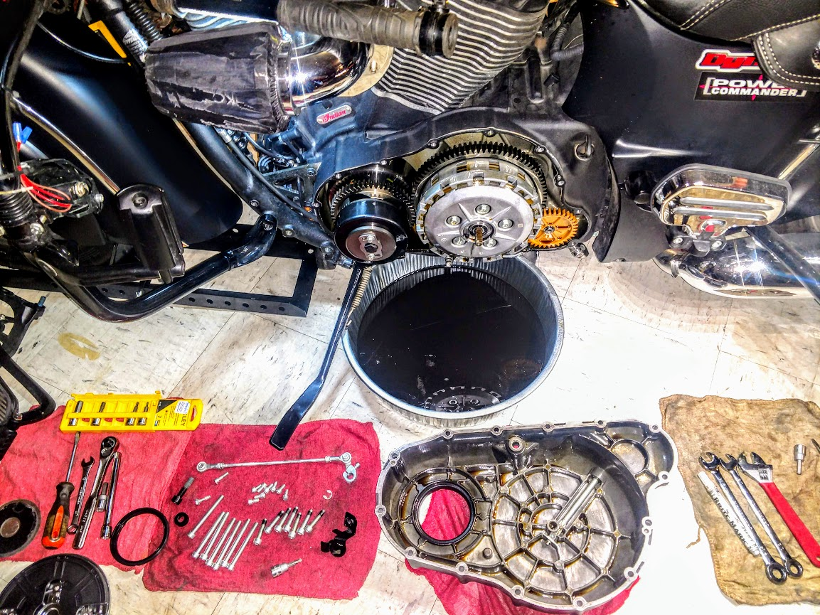 Barnett Clutch Install | Indian Motorcycle Forum