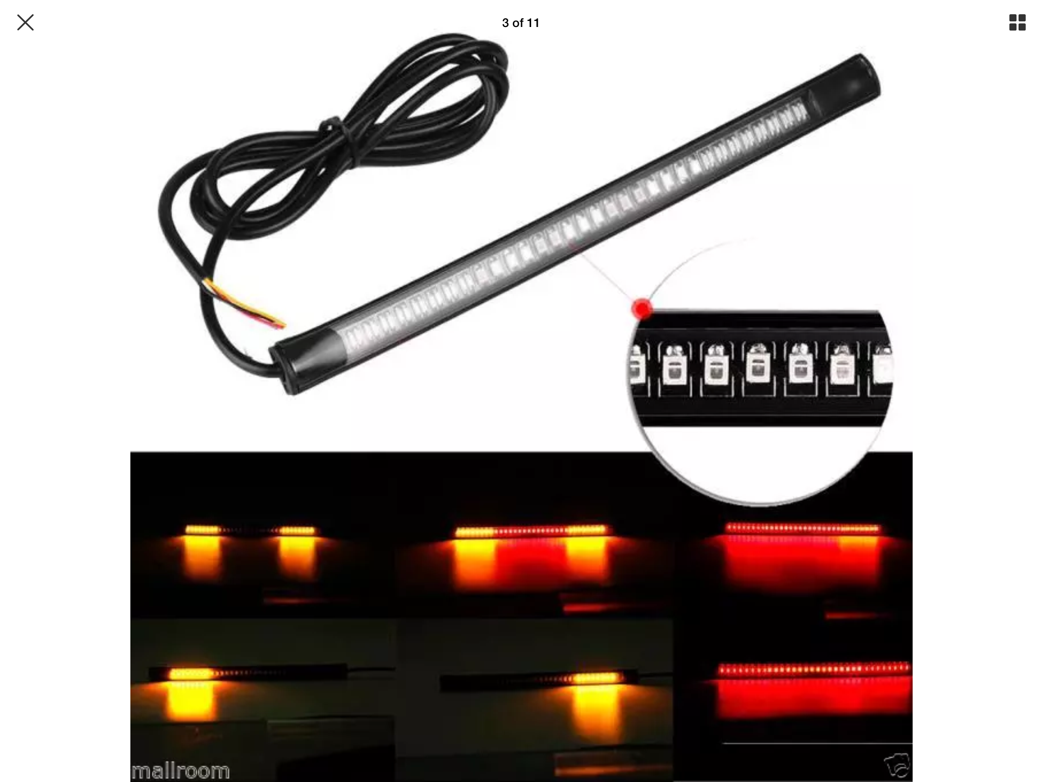 Ho to connect led strip brake running turn signal lights indian i was hoping that you guys could help me with your expertise i have taken the stock tail light off of my 2016 scout sixty and connecting led strip brake swarovskicordoba Choice Image