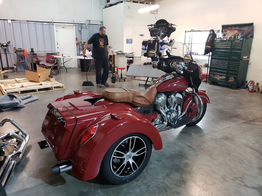 Trike Conversion for Chieftain/RoadMaster ( Road Smith ) for