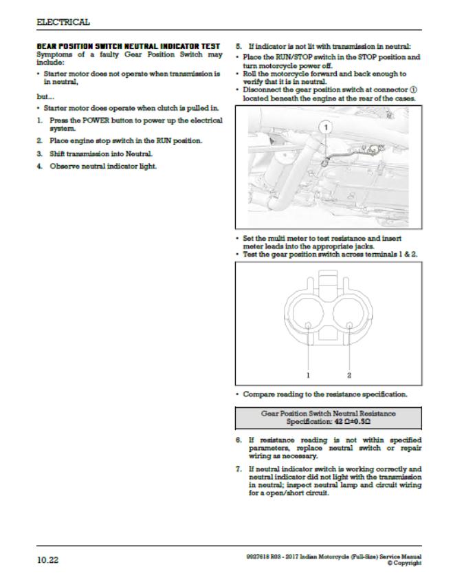 gear position sensor | Indian Motorcycle Forum