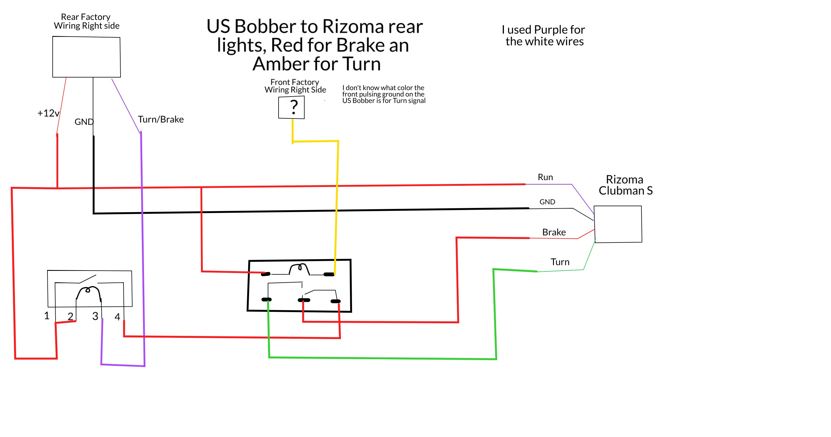 [SCHEMATICS_4NL]  Rizoma LED Turn Signals / Lights on a customized Scout | Indian Motorcycle  Forum | 2015 Indian Scout Wiring Diagram |  | Indian Motorcycle Forum