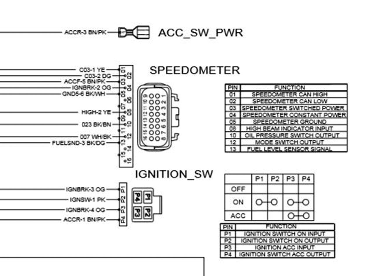 Diagram Pro Comp Tach Wiring Diagram 6811