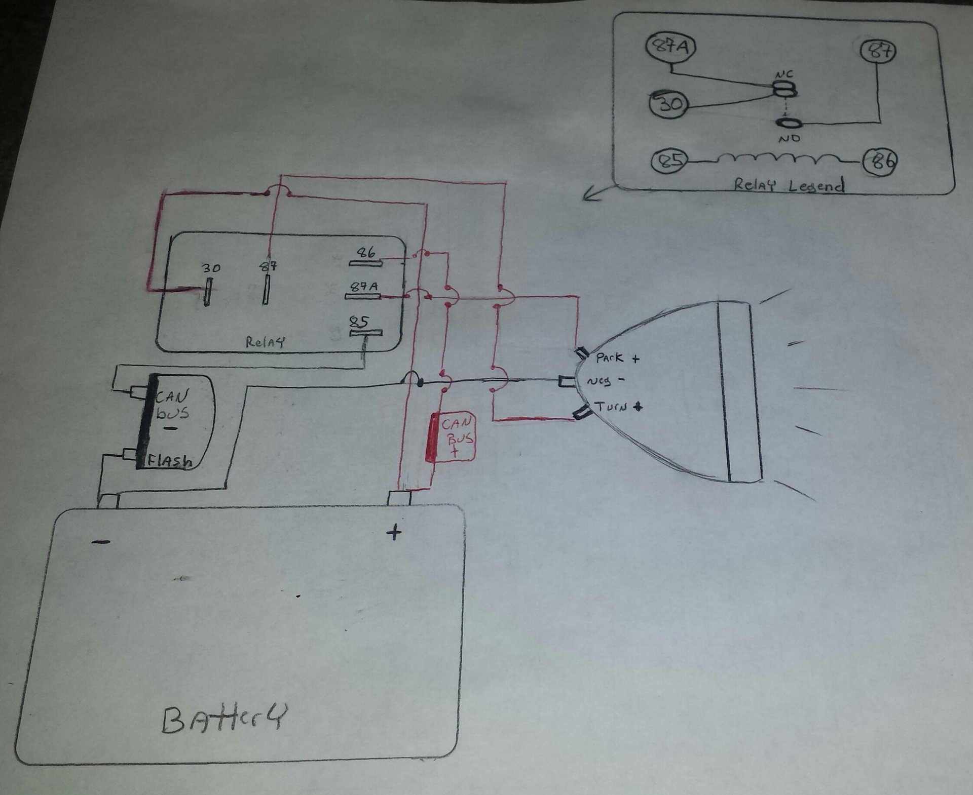 Need help wiring aftermarket rear lights   Indian Motorcycle ForumIndian Motorcycle Forum