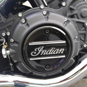 Scout Sixty Primary Engine Badge