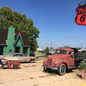 Old station Route 66 Chandler Ok