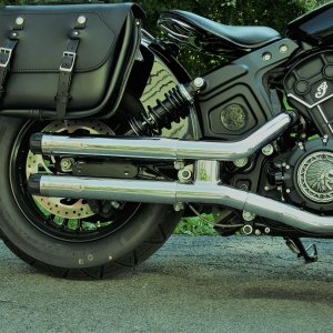 CRUSHER® MAVERICK SLIP-ONS FOR INDIAN SCOUT