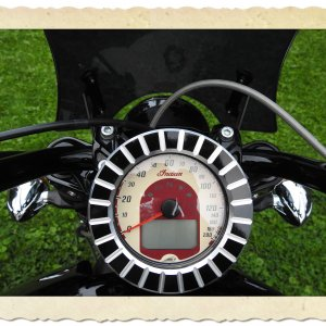 Bad Ace Billet Speedo Bezel